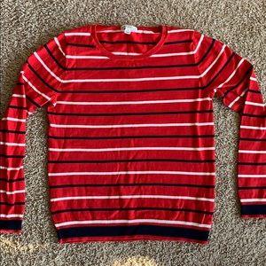 J Crew factory stripe sweater size s